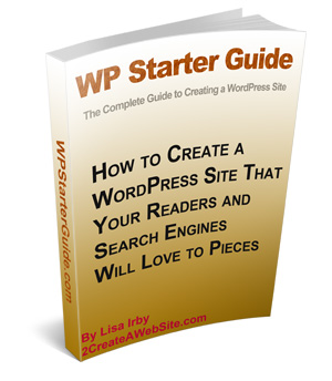 Wordpress Starter Guide - gets your business WordPress site going